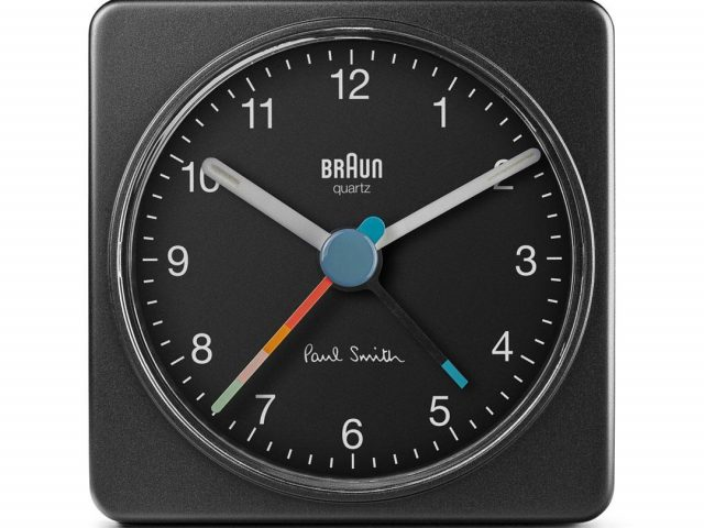 【Braun x Paul Smith】限量版经典旅行便携传统闹钟 Limited Edition Classic Travel Analogue Alarm Clock